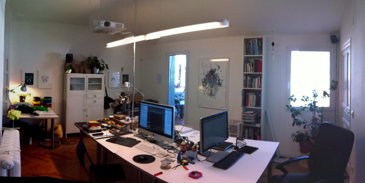 Nos trasladamos… Cómo convertir el salón de tu casa en un laboratorio de fabricación digital