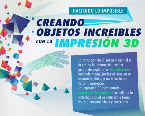 Infografía: ¿Qué es la IMPRESIÓN 3D?
