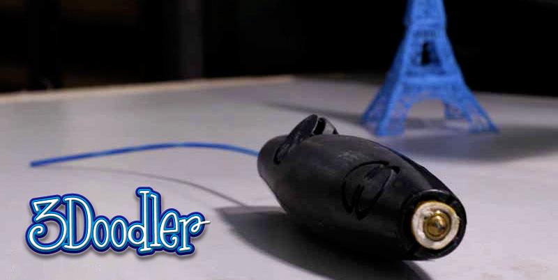 3Doodler pinta como un lápiz… ¡en 3D!
