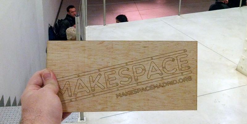 Nos vemos en el Makespace Madrid