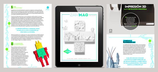 Escribimos un artículo sobre impresión 3D para MasMag