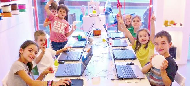 Talleres de modelado e impresión 3D para niños en Barcelona